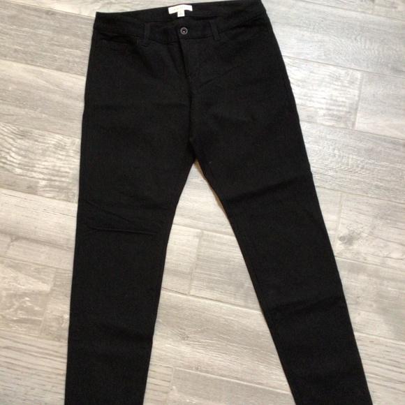 Banana Republic black skinny jeans